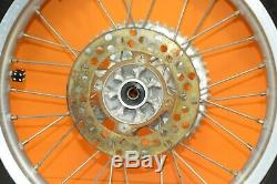 90-97 1991 KX80 KX 80 Front Rear Wheels Complete Set Rim Hub Assembly BIG WHEEL