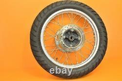 93-94 1993 XR650 XR 650 Complete Wheel Set Front Rear Rim Hub DUAL SPORT Tires