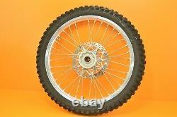 96-98 1996 YZ125 YZ 125 Front Rear Wheels Complete Set Hub Rim Tire Assembly