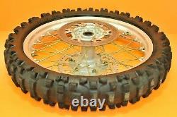 96-98 1998 YZ250 YZ 250 Front Rear Wheels Complete Set Hub Rim Tire Assembly