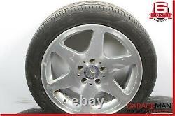97-00 Mercedes R170 SLK230 Complete Wheel Tire Rim Set of 4 Pc 7.5Jx17H2 ET37