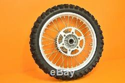 97-99 1997 RM125 RM 125 OEM Front Rear Wheels Tires Hub Rim Assembly Complete