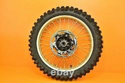 99-02 1999 KX250 KX 250 Front Rear Wheels Complete Set Hub Rim Tire Assembly