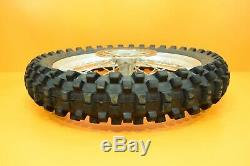99-02 2001 KX250 KX 250 Front Rear Wheel Complete Set Rim Hub Spokes Tire