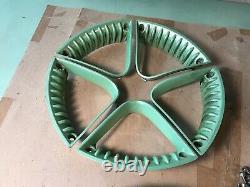 99-05 OEM VW Beetle Turbo Volkswagen GREEN wheel RIM trim insert COMPLETE SET