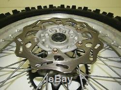 99-14 Yamaha Yz 250 Yz250 03-08 Yz 450 F Rear Wheel Rear Rim Complete Nice