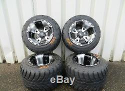 Aeon Cobra 400 Sm Supermoto VBW Sport Complete Wheel Set Rim Black Silver