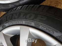 Alloy Rims Winter Tyres Complete Wheels BMW F10 F11 F18 F12 8Jx18 ET30 6790173