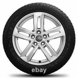 Audi 17 inch rims A4 S4 8W B9 8W0601025P winter tires complete winter wheels