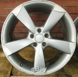 Audi A4, A5, A6, A7, Q5, Q7, Complete Genuine 20 Rotor Alloy Wheels