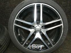 Audi A6 S6 4F C6 Complete wheels 8x18 ET45 5x112 Aluminium rims Alloy wheels JJ