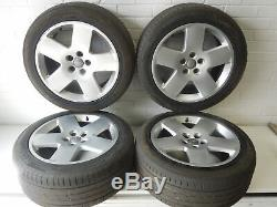 Audi A8 D3 18 5 Spoke Alloy Wheels Fat Five 4E0601025M #1