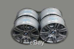 BMW 3 Series E90 E91 E92 E93 Complete Set 4x Wheel Rim 17 M Double Spoke 194