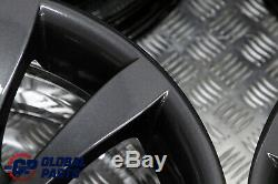BMW 6 Series E63 E64 Grey Complete Set 4x Wheel Rim 19 8,5J 9J Star Spoke 218