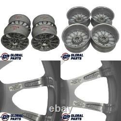 BMW E90 Complete Set 4x Alloy Wheel Rim 18 Motorsport Radial Spoke 216 6770464
