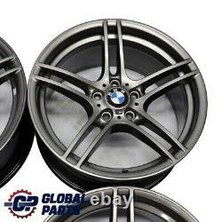 BMW E90 E91 E92 E93 Grey Complete Set 4x Alloy Wheel 19 M Double Spoke 313