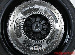 BMW K21 R nine T 2013-17 Complete Front Spoke Wheel Rim Inc Tyre & Brake Discs