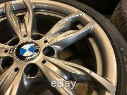 BMW M140i M240i 4x 18 GENUINE 436M ORBIT GREY ALLOY WHEELS Complete With Tyres