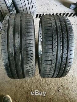 BMW M5 M6 E60 E61 19 inch alloy wheels rims Tyres Genuine Complete Set