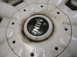 BMW MINI R50 R52 R53 Alloy Wheels 15 R82 8 SPOKE / WHITE Complete set of 4