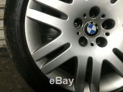 BMW OEM E65 E66 745 750 760 WHEEL RIM AND TIRE 245 45 18 INCH 18 18x8 02-08 #2