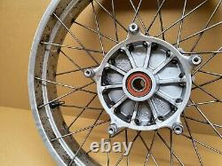 BMW R1150GS Front spoked wheel rim, Complete & Straight, Fits 1999 2005