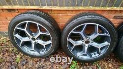 BMW X1 2016 OEM wheels 6856070 18 alloy rims and tyres used complete set of 4