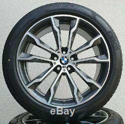 BMW X3 G01 X4 G02 20 Inch Rims M699 Complete Wheels Original