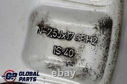BMW X5 E53 Silver Complete 4x Wheel Alloy Rim 17 Star Spoke 57 7,5J ET40