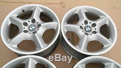 BMW X5 SERIES E53 Complete 4x Wheel Alloy Rim 17 star spoke 57 7,5J x17 ET40