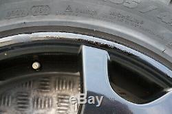 BMW X5 Series E53 Complete Set 4x Black Wheel Rim with Tyres 19 V spoke 63