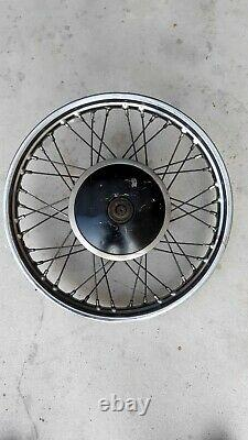 BSA A10 / A7/ A 65/ A 50 front wheel complete with drum brake