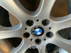 Bmw E60 E61 Style 185 18 245/40 R18 Inch Sport Wheel Rim With Tire #2 Oem #013