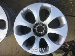 Bmw E60 E64 E63 5 6 Series Ellipsoid Alloy Wheels Complete Set 19 With Hub Caps