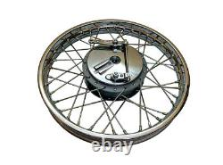 Brand New Royal Enfield Complete Front & Rear Wheel 19 inches