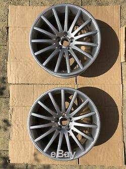 COMPLETE GENUINE OEM Audi TT Quattro Sport Alloy Wheels Silver 5x100 57.1