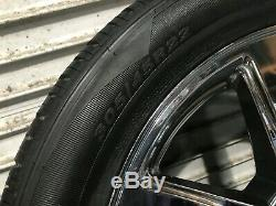 Cadillac Escalade Oem Front Rear Set Rim Wheel And Tire Chrome 22 Inch 22 07-14