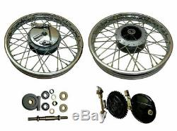 Complete Front & Rear Wheel Rim Suitable for Royal Enfield