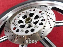 Complete Front Wheel withTire & Rotor 90-96 EN500 Vulcan 500 EN500A OEM frt Rim