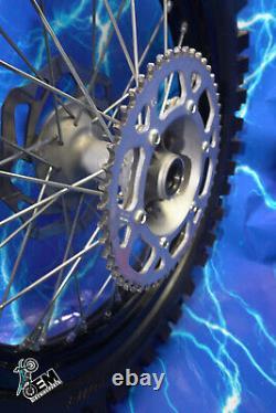Complete Rear Wheel Kawasaki DID Hub Spoke Black Rim Kit OEM Stock Assembly 19