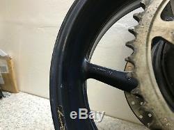 Complete Rear Wheel Rim + Brake Disc Yamaha Fz1 N Fazer 1000 2006 2010