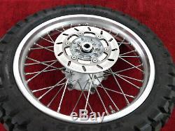 Complete Rear Wheel withRotor & Tire 99-06 TTR250 TTR 250 Back Wheel Assy