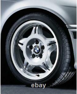 Complete Set Genuine BMW E36 M3 Evo Style 24 Alloy Wheels 7.5J 8.5J