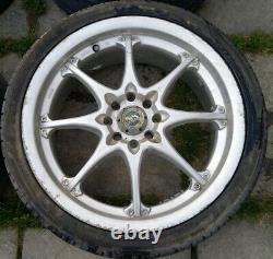 Complete Set Of 4X 17 BK Racing Alloy Wheels Multifit 4x100/108