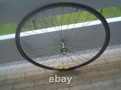 Complete Wheel C Record Hub Mavic Rim Holes 36 Ruota Used