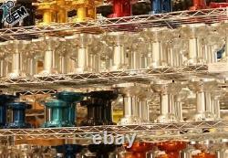 Complete Wheel Set Excel Black A60 Rims OEM Spokes Billet Hubs Assembly