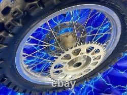 Crf450x Rear Wheel Complete DID Rim Tire Spokes OEM Stock Assembly Kit 18x2.15