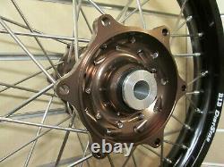 Dubya Complete Wheel Assemblies, Talon Hub with D. I. D Dirtstar Rim FE250/350/450