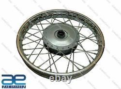 Fits Royal Enfield Complete Front & Rear Wheel 19 40 spoke GEC