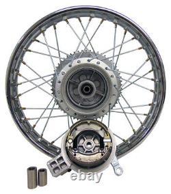 For Kawasaki 03-06 KLX 125 16 Complete Rear Rim Wheel Assembly Brakes Sprocket